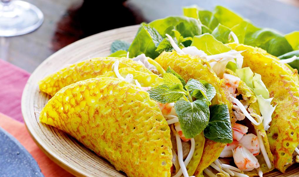 Vietnamese Shrimp Pancake