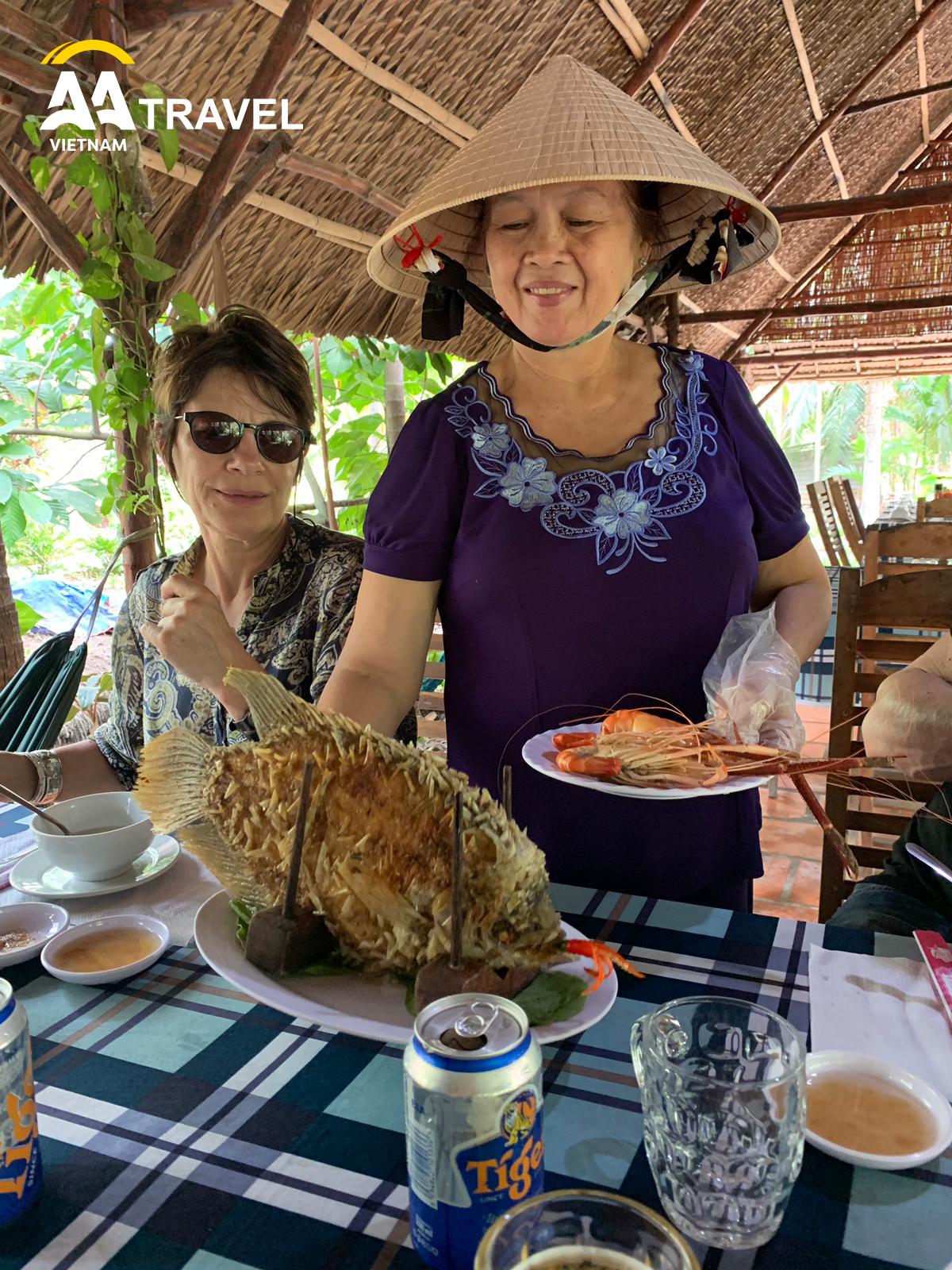 Enjoy Local Lunch