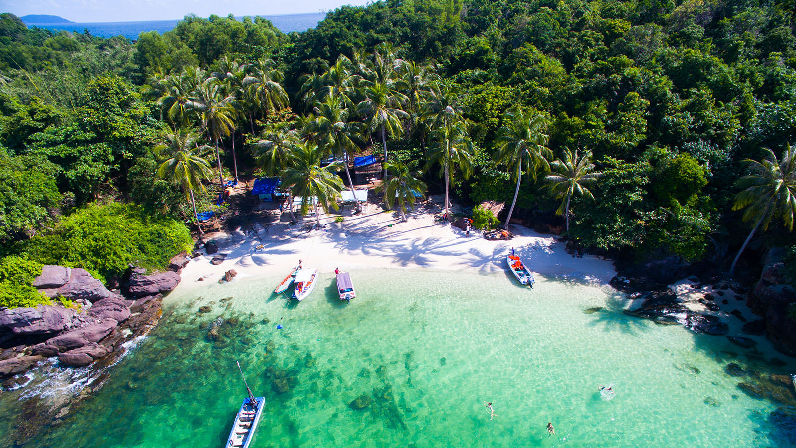 Phu Quoc Island boat trip journey