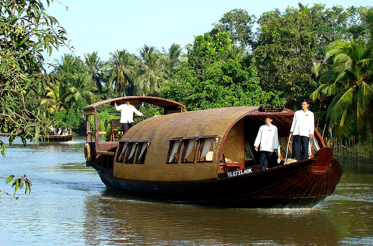 Mekong Delta River cruise journey