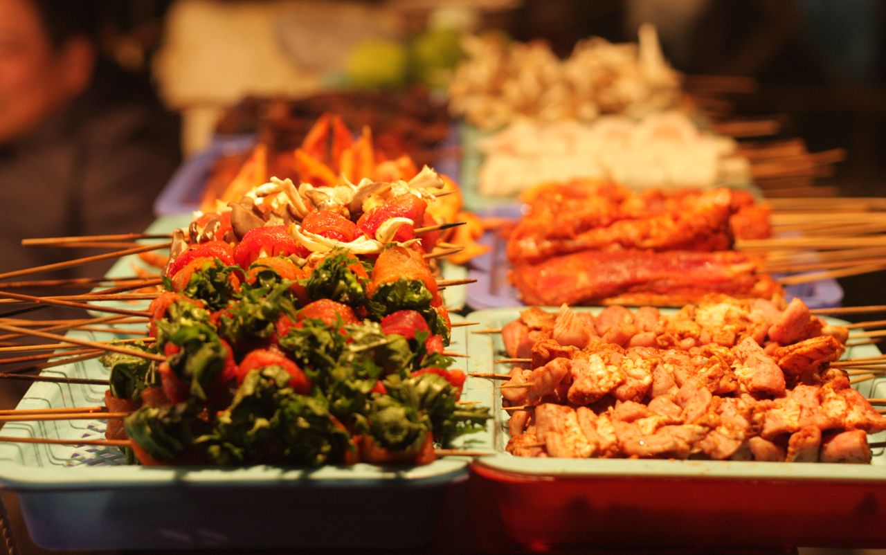 Grilled food in Sapa