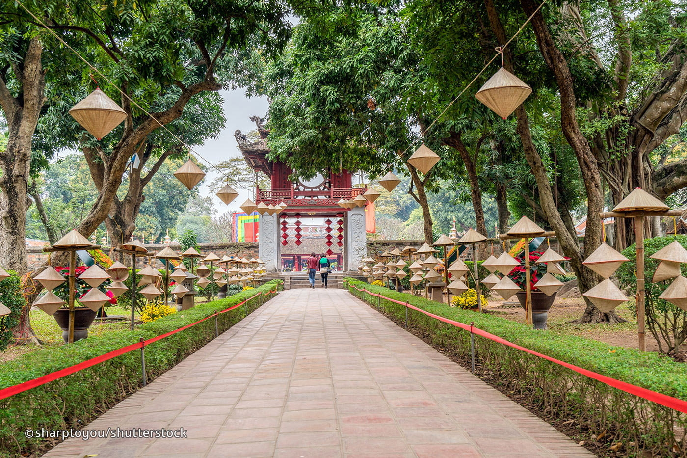Discover a slice of Hanoi's culture at The Temple of Literature