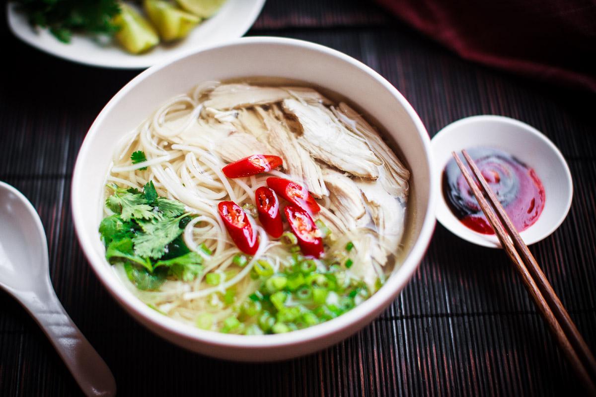 Chau Truc shrimps rice noodles