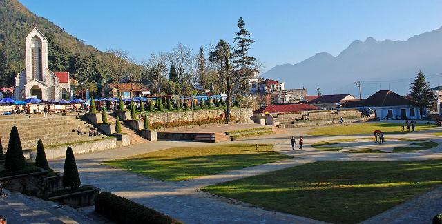 Sapa Square - the heart of Sapa